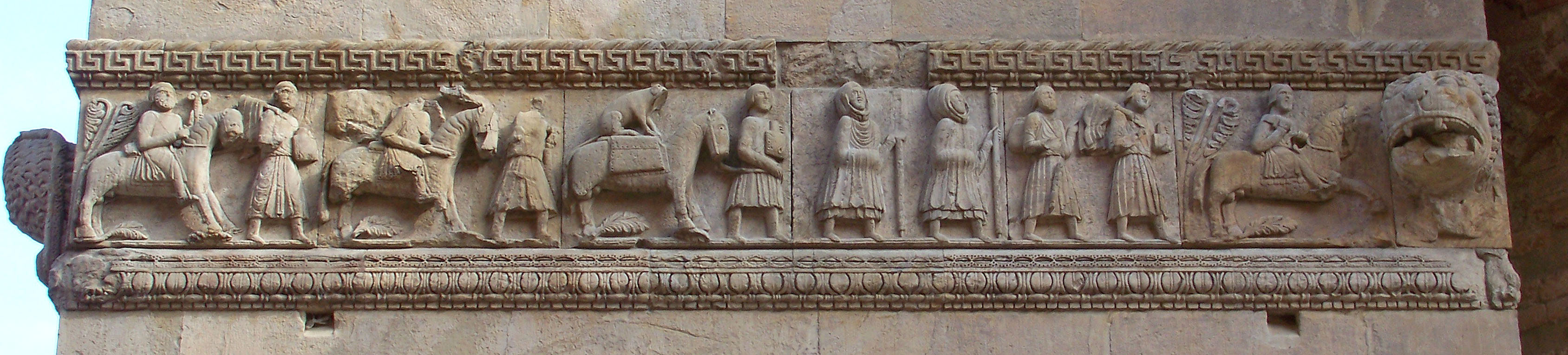 Fregio - Duomo di Fidenza