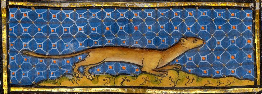 Bestiary, Thérouanne ca. 1270 (LA, J. Paul Getty Museum, MS. Ludwig XV 3, fol. 91v)