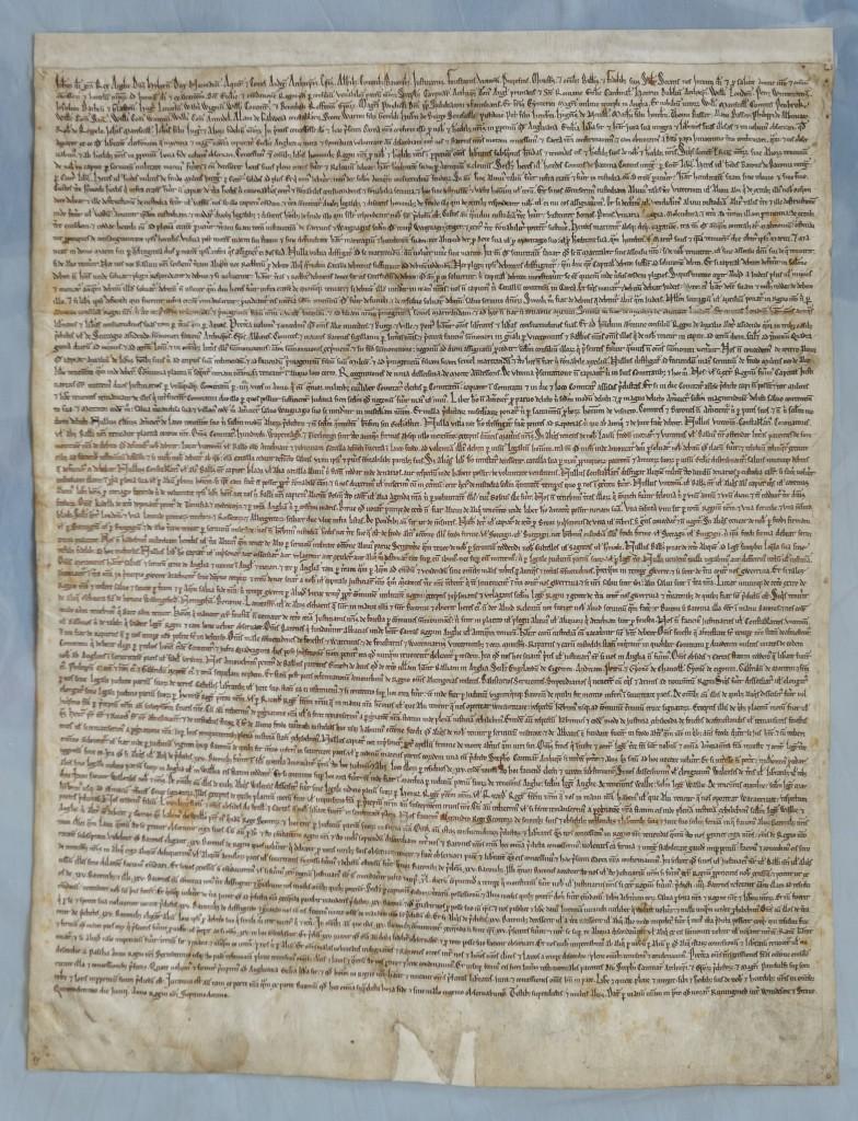 1215 Magna Carta – Salisbury Cathedra