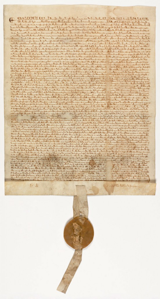 Magna Carta, 1297 -  U.S. national archive