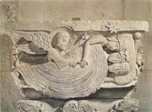 Il Sogno dei Magi, capitello della chiesa di Saint Lazare - Autun (segnalazione di R. Massagli)