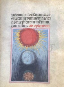 Officiolum di Francesco da Barberino, ca.1305-08 (eclissi di sole)